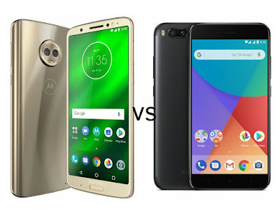 Moto G6 Plus vs Xiaomi Mi A1