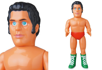 WWE Andre the Giant Late Career Red Edition Sofubi Vinyl Figure by Medicom