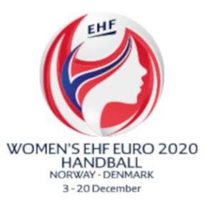logo europeo balonmano femenino 2020