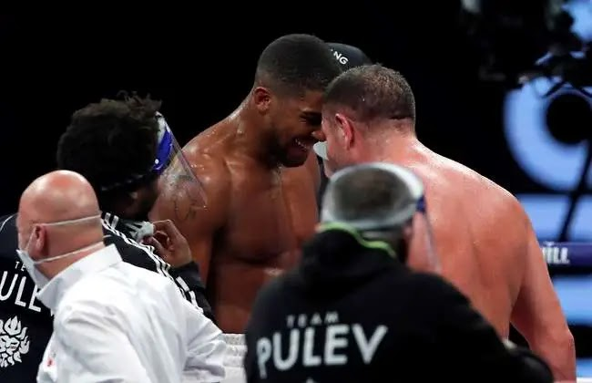 Boxing: Anthony Joshua was sent an emphatic message by Kubrat Pulev after fight #Arewapublisize
