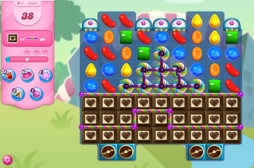 Candy Crush Saga level 9204