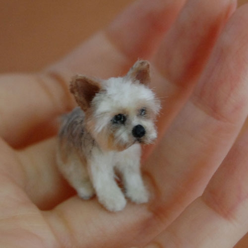 15-Yorkshire-Terrier-Dog-ReveMiniatures-Miniature-Animal-Sculptures-that-fit-on-your-Hand-www-designstack-co