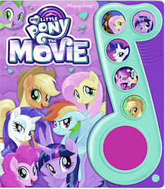 My Little Pony MLP The Movie: Play-a-Song Books