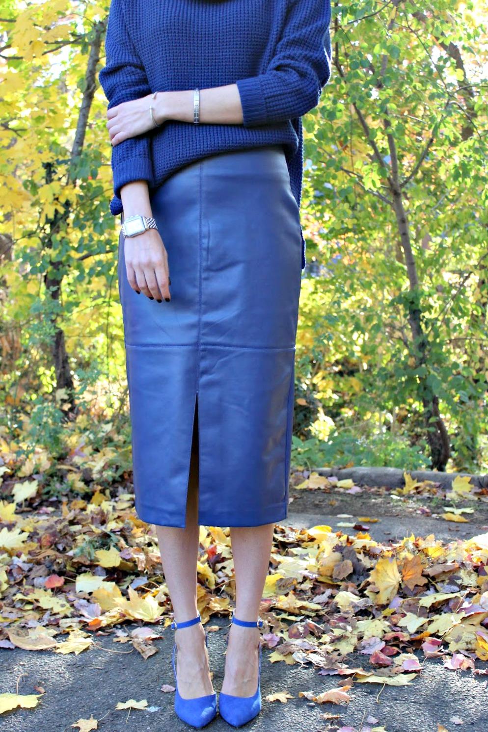 eva mendes collection pencil skirt