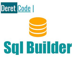 Tutorial membuat sql builder di c#