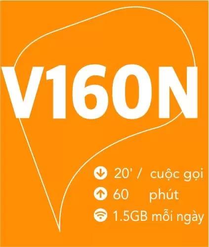 4G Viettel Gói V160N