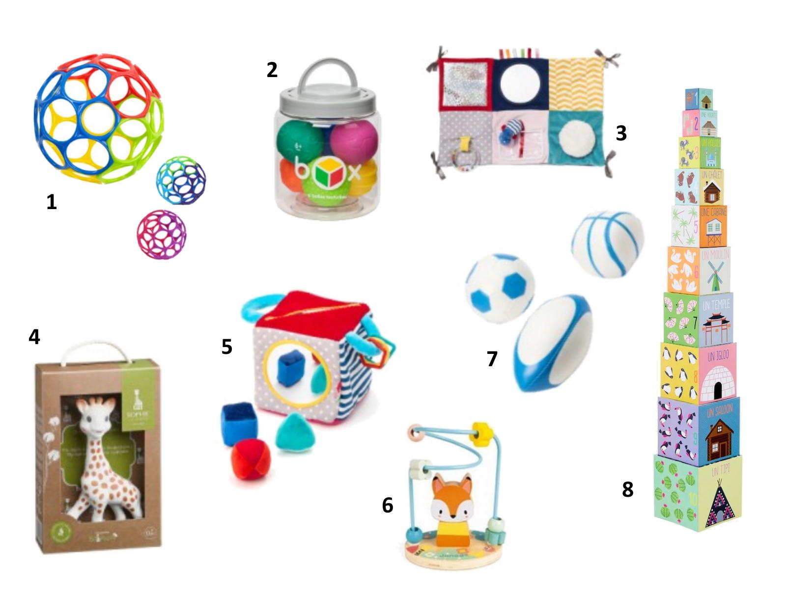 idées cadeaux sélection enfant bébé noel 6 à 12 mois jouets éveil petit prix