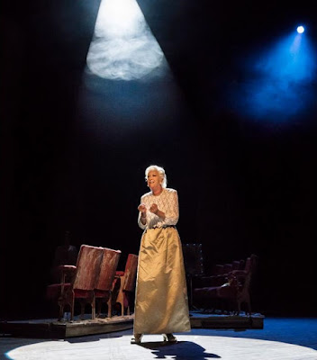 Dame Josephine Barstow as Heidi, Follies, National Theatre (Photo Johan Persson)