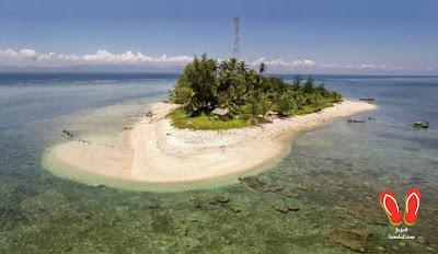 pulau tikus bengkulu dari atas