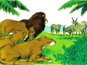 Leões - Animais citados na Bíblia