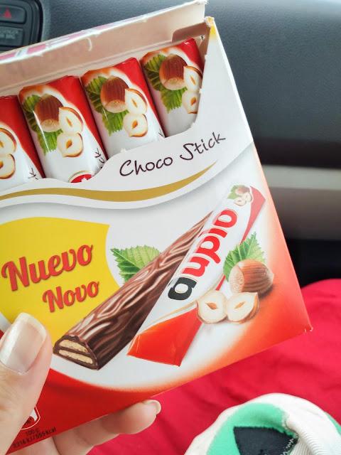 Chocolate helped me on Madeira