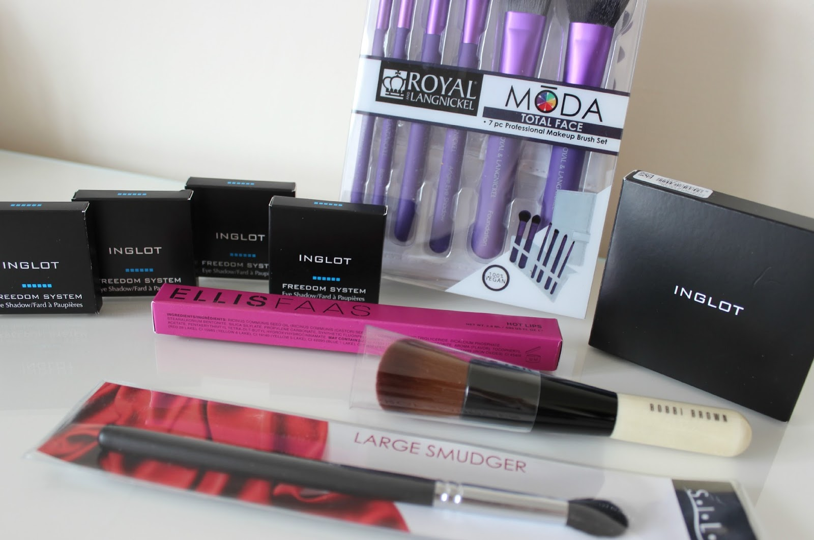 A picture of iMats London 2014 haul