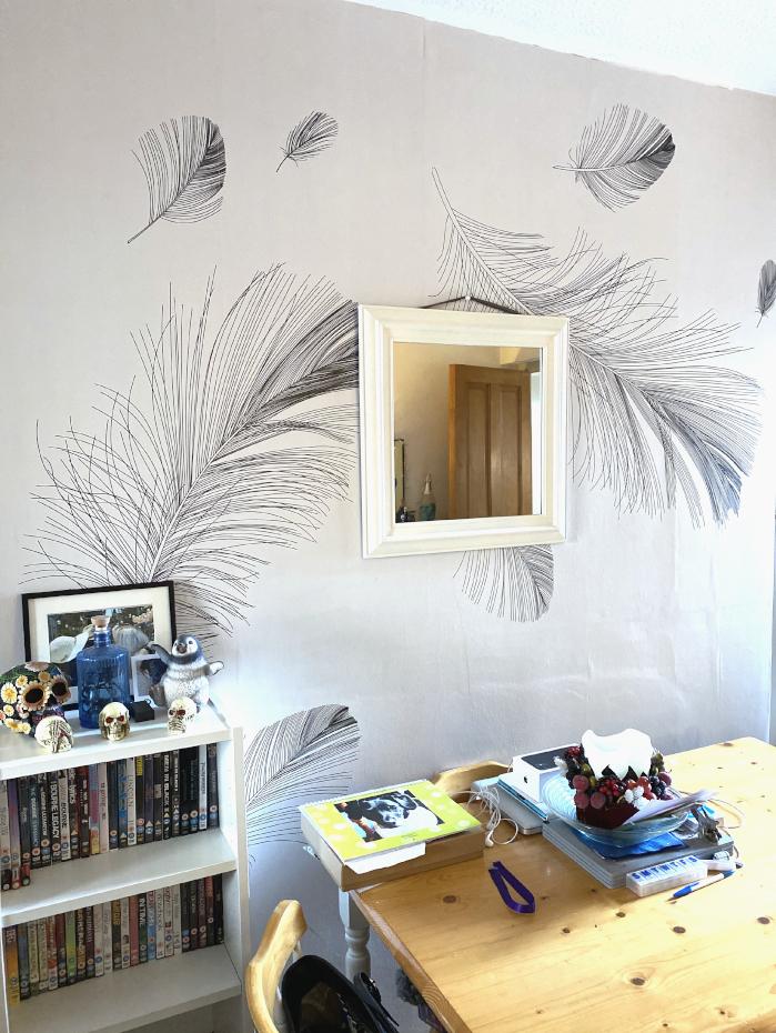 wallpaper, decorating, DIY, Photowall, ad, gifted