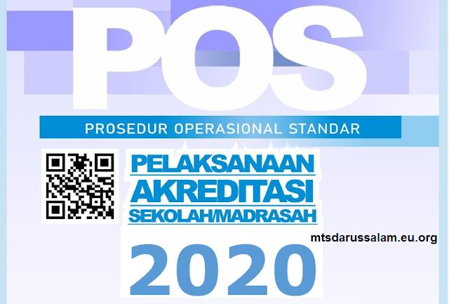 POS Pelaksanaan Akreditasi Sekolah/Madrasah Dan Draf IASP Semua Jenjang Tahun 2020