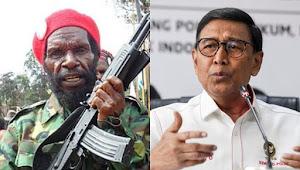 Saksikan Detik-detik Penusukan Menkopolhukam Lewat Siaran Televisi, Pentolan OPM Goliath Tabuni: Mas Wiranto Kena Azab