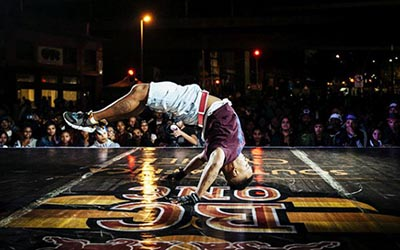 Redbull Dance competition