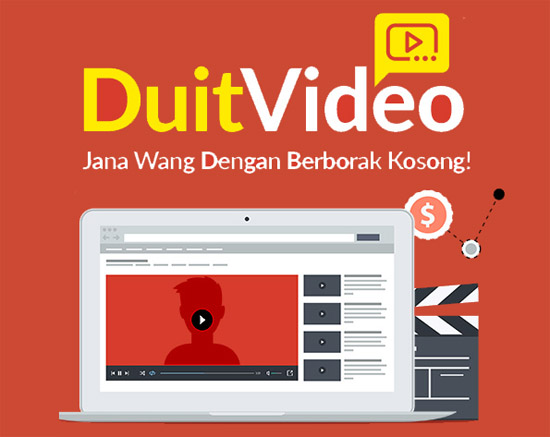 Cara Jana Income dengan Video YouTube