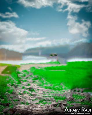 Beautiful Nature CB Background Free Stock Image