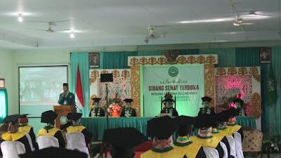 Luluskan Gelar Sarjana STAINU, Mampu bersama Masyarakat Memberi Mutu Pendidikan Islam