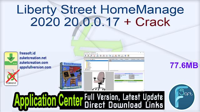 Liberty Street HomeManage 2020 20.0.0.17 + Crack