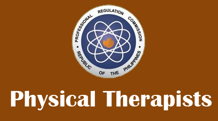 August 2013 Top 10 Physical Therapists (PT) Board Exam Results