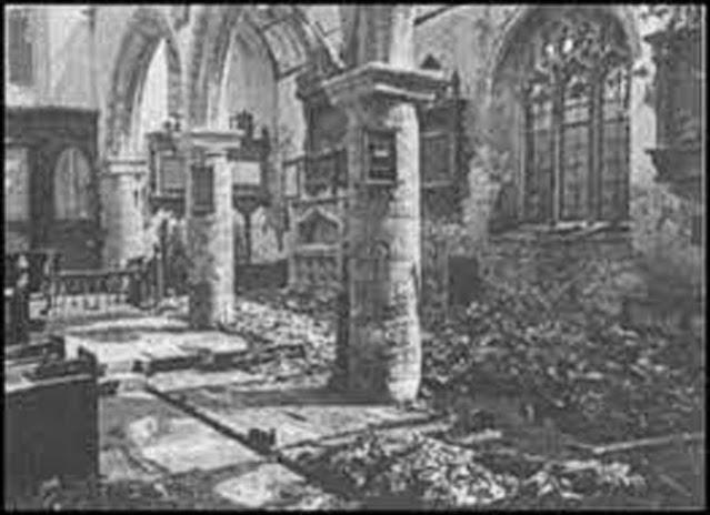 Bomb damage in Exeter, England, 24 April 1942 worldwartwo.filminspector.com