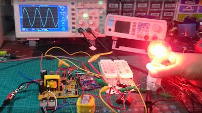 How to convert a square modified wave inverter to pure sine wave