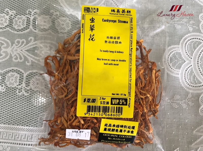 traditional chinese medicine cordyceps stroma recipe