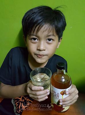 SURYA  Apple Cider Vinegar Dengan Madu Asli Sihat Dan Berkhasiat