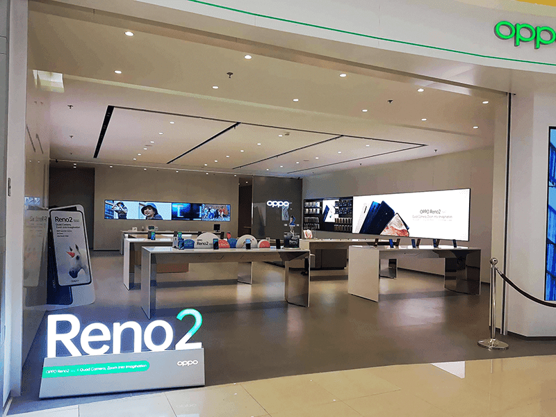 The biggest OPPO Experience Store yet