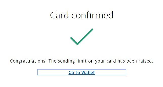 Akun Paypal Berhasil di Verifikasi Menggunakan Kartu Jenius