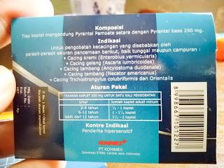 Konvermex obat cacing orang dewasa