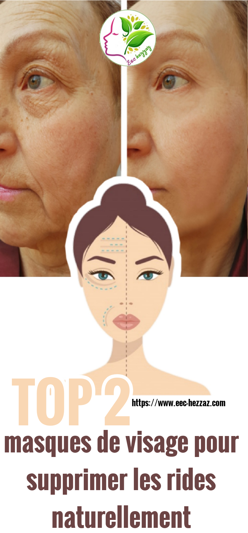 TOP 2 masques de visage pour supprimer les rides naturellement