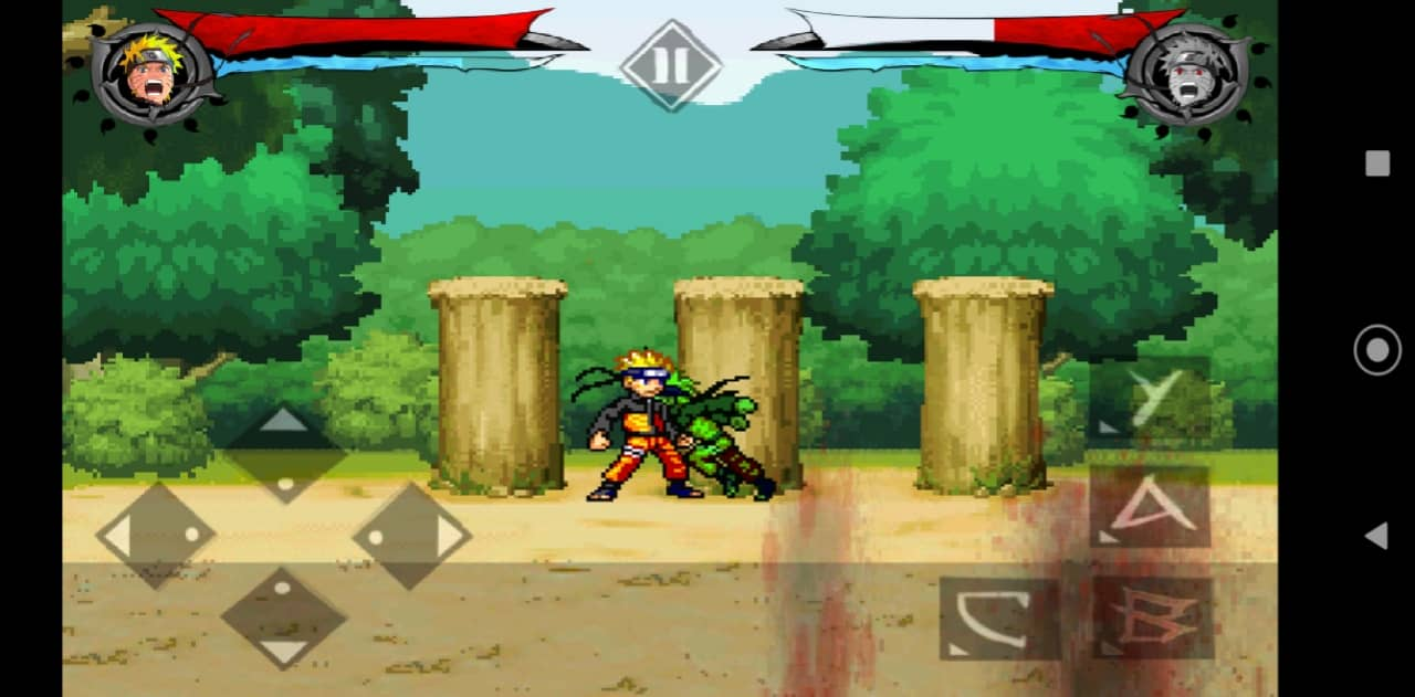Naruto Fight Shadow Blade X new version apk