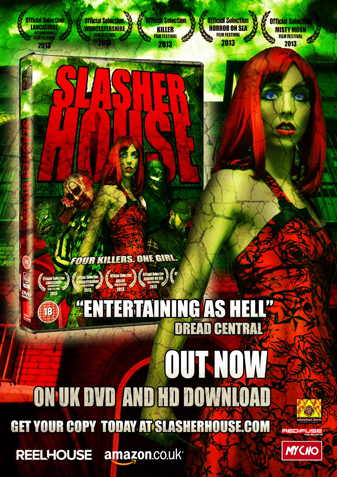 SLASHER HOUSE DVD