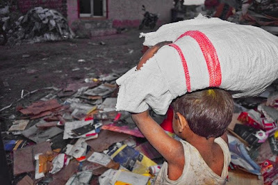 child labour in india, paragraph on child labour