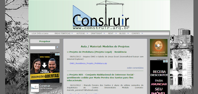 http://www.site.construir.arq.br/index.php?id=Aulas&cat=modelos_projetos