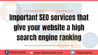 Important SEO services that give your website a high search engine ranking