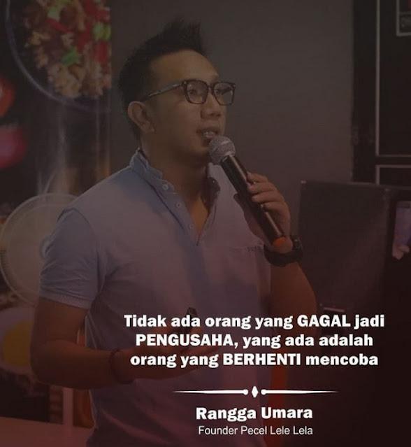 "Kisah Sukses Wirausaha Muda ""Rangga Umara"" Mengembangkan Pecel Lele ""LELA"""