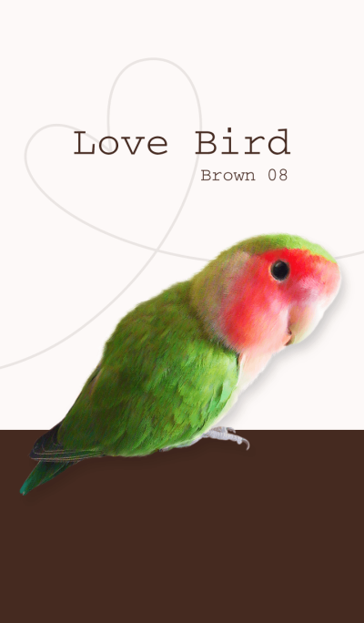 Lovebird/brown08