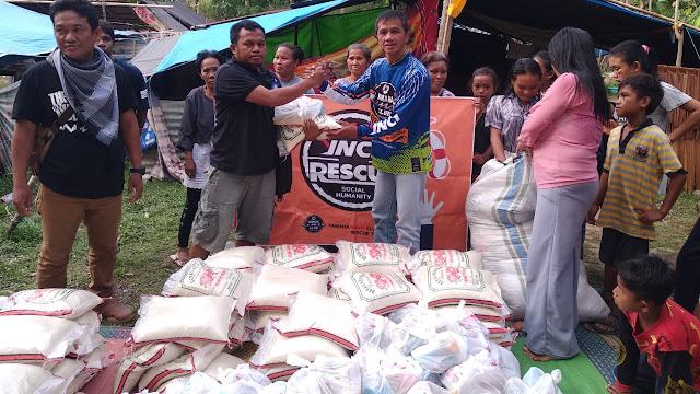 """Jadi Relawan Gempa dan Tsunami Sulteng,  """" Ronny """" Bikers YNCI Tempuh Jalur Darat Menuju Bitung"""
