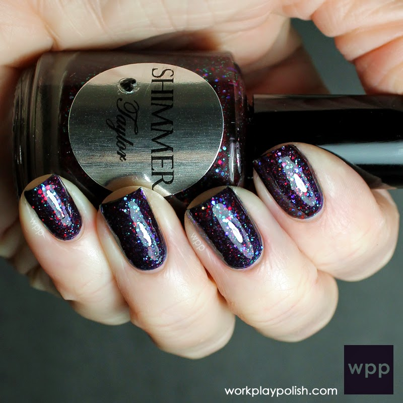 Shimmer Taylor over OPI Russian Navy