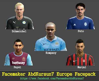Europe Facepack by AbdKursun7