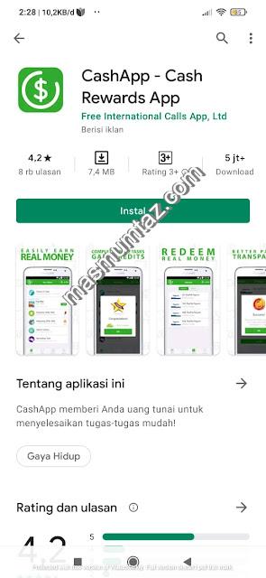 cara mendapatkan uang di cash app