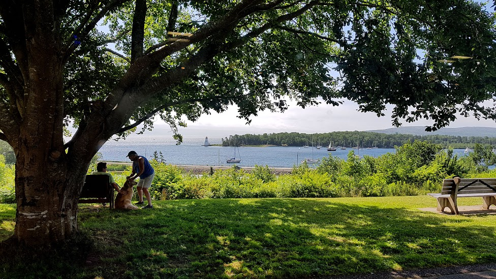 Visit Alexander Graham Bell's favourite home, Baddeck while cycling Canada's Cabot Trail in Cape Breton