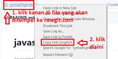Cara Menyimpan File Javascript, CSS atau HTML di Github