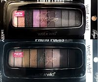 FERGIE WnW collection Photo Focus eyeshadow palettes: Paris Runway, Milano swatches