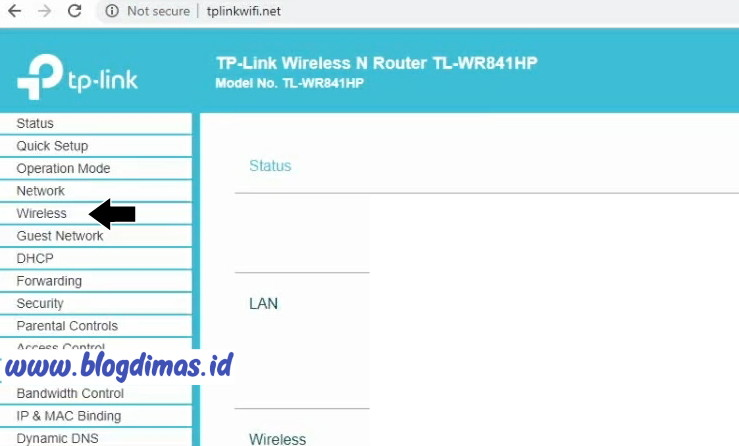 Password WIFI TP-Link