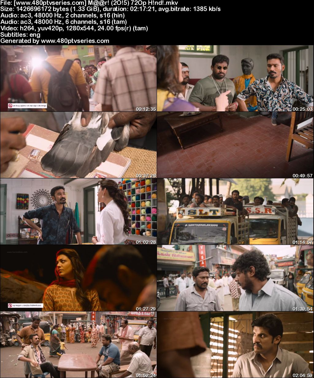 Watch Online Free Maari (2015) Full Hindi Dual Audio Movie Download 480p 720p HDRip