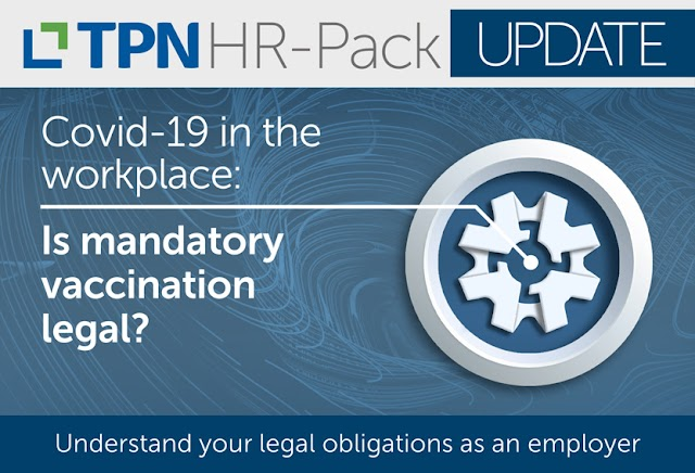 Is mandatory vaccination at work legal?